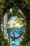 Wielkanocna fontanna Obrazy Royalty Free