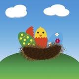 Wielkanocna ilustracja Zdjęcie Royalty Free