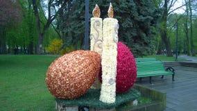 Wielkanocna instalacja Fotografia Royalty Free