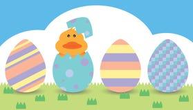 Wielkanocna kaczka Zdjęcia Royalty Free
