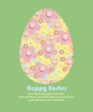 Wielkanocna karta Fotografia Royalty Free