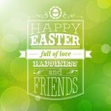 Wielkanocna karta. Obraz Royalty Free
