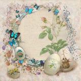 Wielkanocna karta Zdjęcia Royalty Free