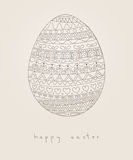 Wielkanocna karta Obraz Royalty Free