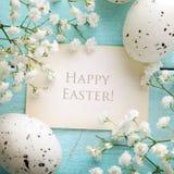 Wielkanocna karta Zdjęcie Royalty Free