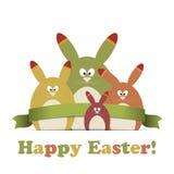 Wielkanocna karta Zdjęcie Stock