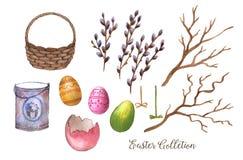 Wielkanocna kolekcja Fotografia Royalty Free