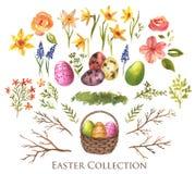 Wielkanocna kolekcja Fotografia Stock