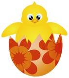 Wielkanocna Pisklęca Kluje się ilustracja ilustracja wektor