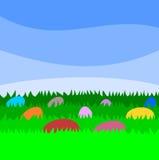 Wielkanocna tapeta - ilustracja Fotografia Stock