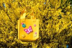 Wielkanocna torba Zdjęcie Royalty Free