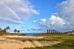 Wielkanocna wyspa Zdjęcia Royalty Free