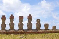 Wielkanocna Wyspa, Chile Obraz Royalty Free