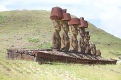 Wielkanocna Wyspa, Chile Fotografia Stock