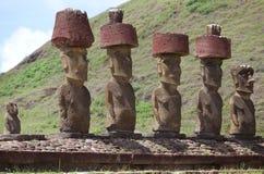 Wielkanocna Wyspa, Chile Fotografia Royalty Free