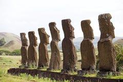 Wielkanocna Wyspa, Chile Obraz Stock