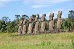 Wielkanocna Wyspa, Chile Zdjęcie Royalty Free