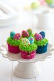 Wielkanocne babeczki Fotografia Royalty Free