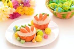 Wielkanocne babeczki Obrazy Stock