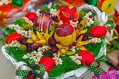 Wielkanocne dekoracje 2 Obrazy Royalty Free