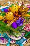 Wielkanocne dekoracje 19 Obraz Royalty Free