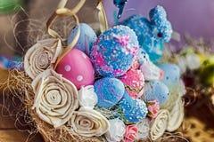 Wielkanocne dekoracje 22 Obraz Royalty Free