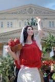 Wielkanocne dekoracje w Moskwa Zdjęcia Royalty Free