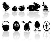 Wielkanocne ikony Obrazy Stock