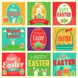 Wielkanocne karty ilustracja wektor
