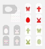 Wielkanocne prezent etykietki Zdjęcie Stock