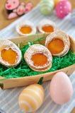 Wielkanocnego jajka ciastka Zdjęcie Stock