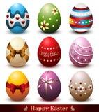 Wielkanocnego jajka kolekcja Zdjęcia Stock