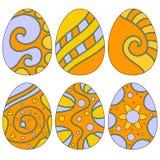 Wielkanocnego jajka kolekcja Zdjęcia Royalty Free