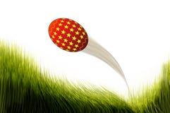 Wielkanocnego jajka latanie. ilustracja wektor