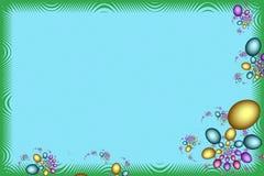 Wielkanocnego jajka o temacie rama ilustracji