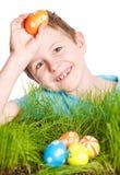 Wielkanocnego jajka polowanie Obraz Royalty Free