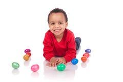 Wielkanocnego jajka polowanie Fotografia Stock