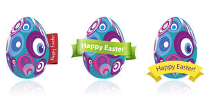 Wielkanocnego jajka set Ilustracja Wektor