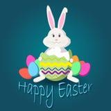 Wielkanocnego jajka szkło Fotografia Stock