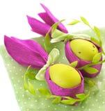 Wielkanocnego królika jajka. Zdjęcia Stock