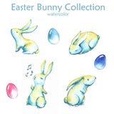 Wielkanocnego królika kolekcja Zdjęcia Stock