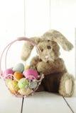 Wielkanocnego królika okazi O temacie Wakacyjny wizerunek Zdjęcie Royalty Free