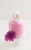 Wielkanocnego królika tort Zdjęcia Royalty Free