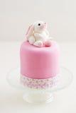 Wielkanocnego królika tort Obraz Stock
