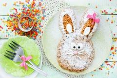 Wielkanocnego królika tort Zdjęcie Stock