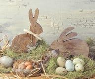 Wielkanocnego pastelu barwiona dekoracja Fotografia Stock