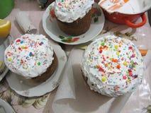 Wielkanocni ciasta obrazy royalty free