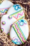Wielkanocni ciastka Fotografia Stock