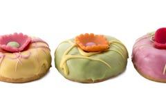 Wielkanocni donuts zdjęcia stock