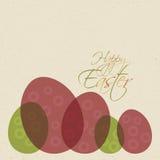 Wielkanocni jajka royalty ilustracja